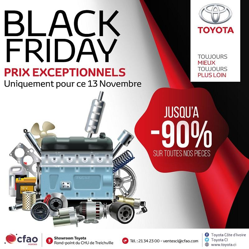 Jusqu'à 90% de réduction - Toyota Black Friday