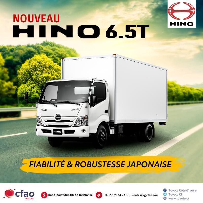Nouveau HINO 300 xzu Series 6,5 Tonnes