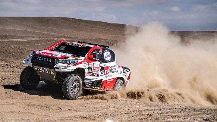 Toyota Hilux remporte le Dakar 2019